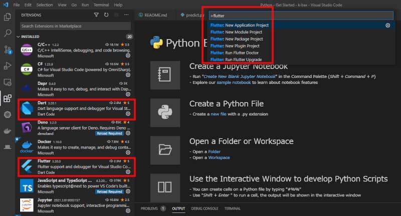 Visual Studio Code実行
